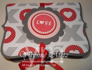 Valentine Top Note Treat Box