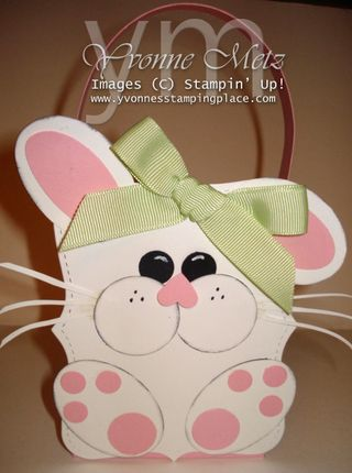 Bunny Top Note Favor Box 1