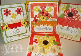 Card and Tote Class Printed Petals