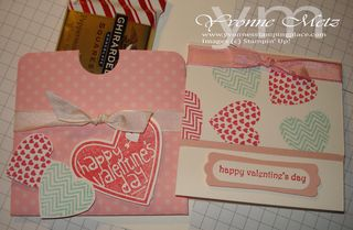 Valentines Card Treat Holder 1