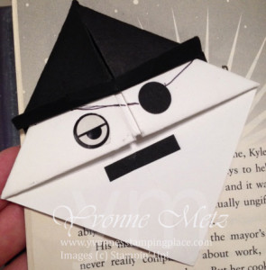 Pirate Bookmark